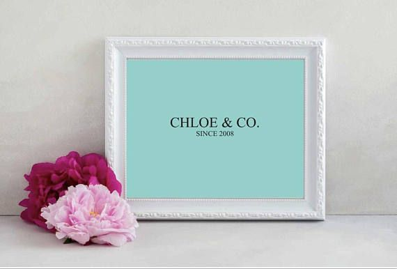 Tiffany blue personalized decor tiffany and co decor tiffany tiffany blue personalized decor tiffany and co decor tiffany blue baby shower gift tiffany and co nursery decor tiffany and co gift tiffany blue and negle Images