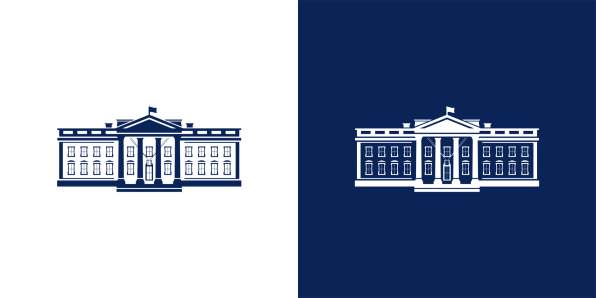 Even The White House Logo Got A Makeover See What Changed In 2021 Home Logo White House Site Design