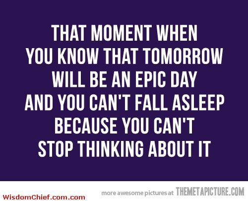 funny sleep quotes   That Exciting Moment Funny Cute Quote About Life