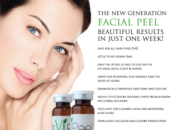 Now At Lulu Salon Day Spa We Are Happy To Announce We Are Starting Vi Peel Painless Chemical Peels 99 R Chemical Peel Facial Peel Anti Aging Skin Products