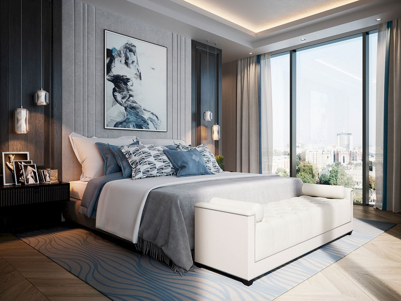 Best 40 Stunning Light Interior Bedroom Ideas For Comfortable 400 x 300