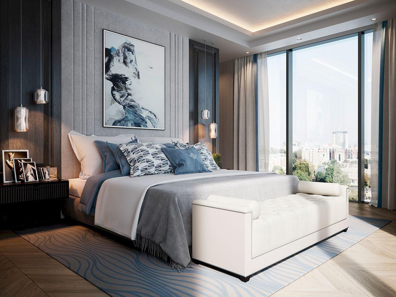 40 Stunning Light Interior Bedroom Ideas For Comfortable Bedroom Freshouz Com Modern Luxury Bedroom Luxury Bedroom Furniture Modern Bedroom Design