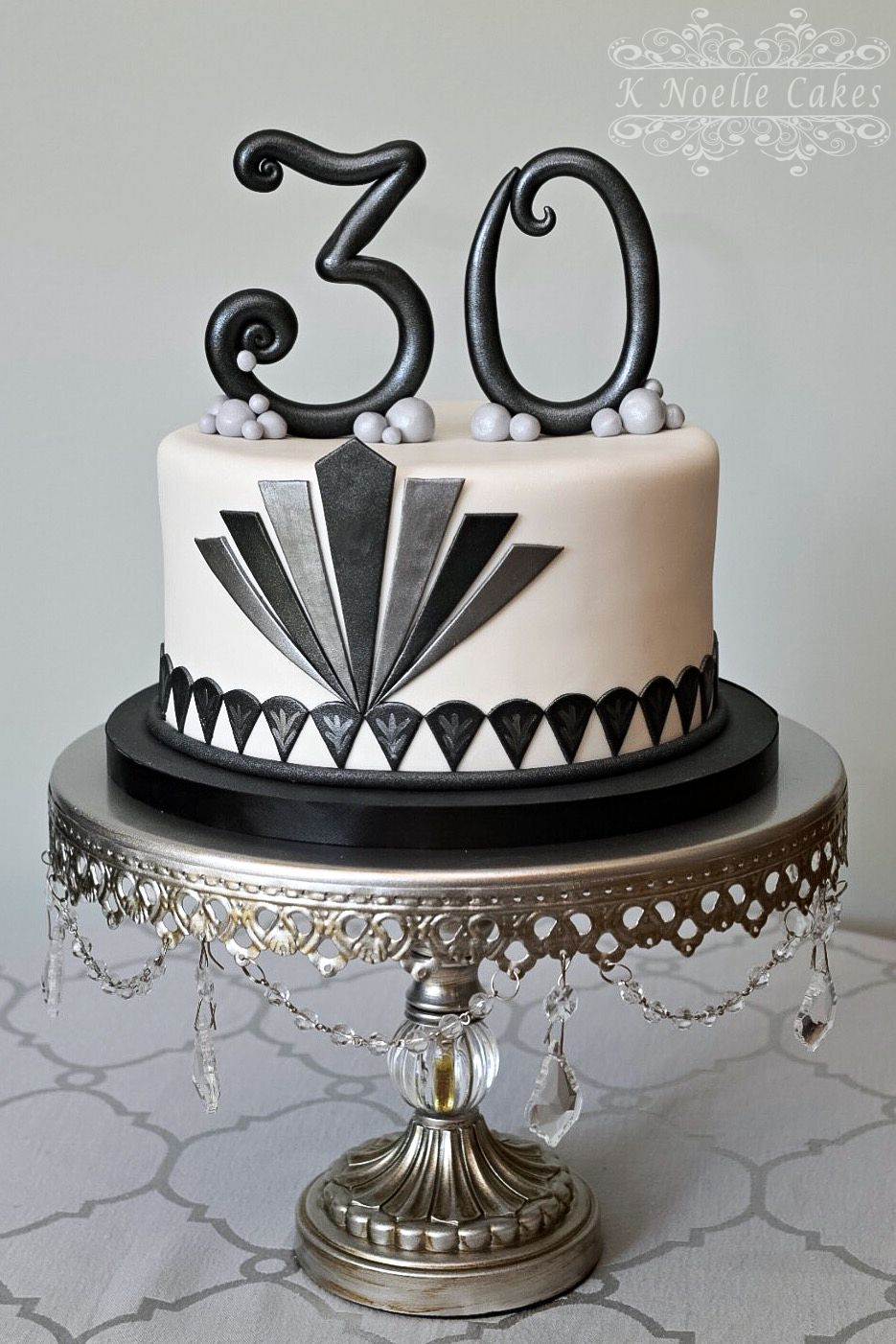 Art deco backdrop for photos wall decor party decoration 1920 s - The Great Gatsby Theme Cake By K Noelle Cakes Flapper Party1920s