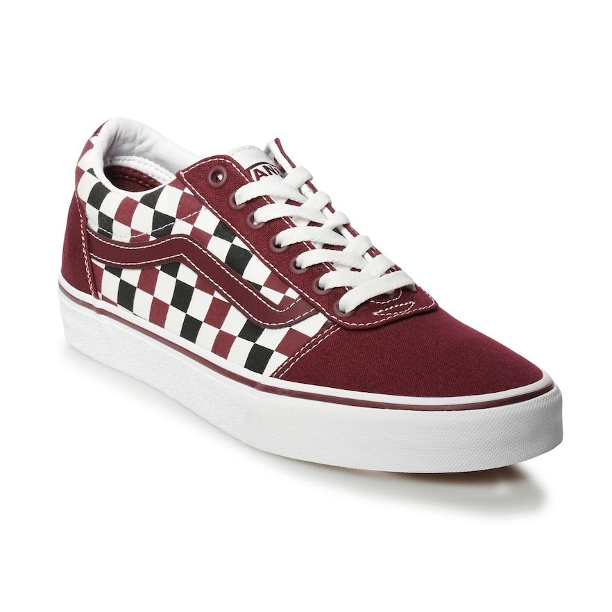 Vans Ward Men's Checkerboard Skate Shoes, Size: Medium (10.5