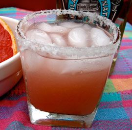 Salty Perro Rojo  I wonder what you would call it if vodka was substituted for the Gin.  A VoRojo.....