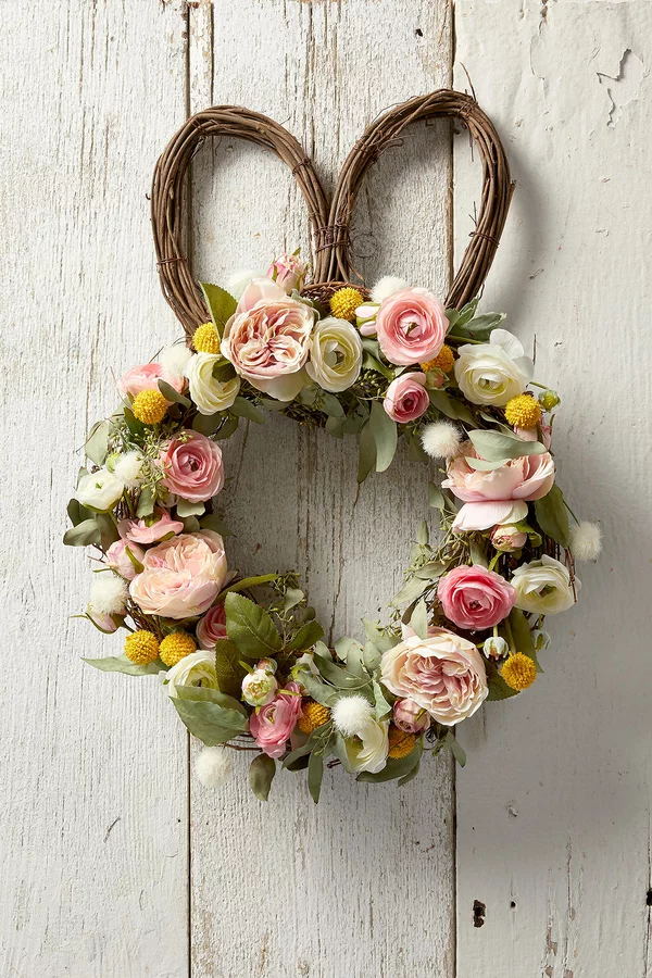 Photo of Welcome Spring to Your Home with This DIY Easter Bunny Wreath