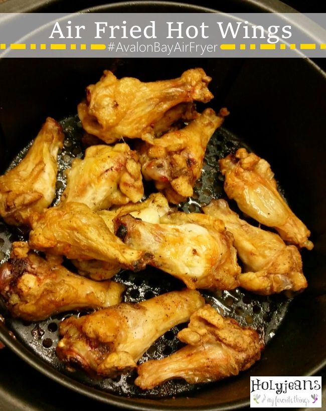 Air fried hot wings avalonbayairfryer review air for Airfryer recipes fish