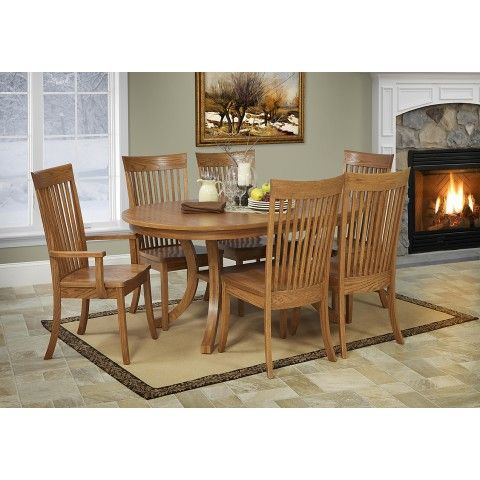Dine in Style with the Chelsea Table from Peaceful Valley Furniture #handcrafted #home