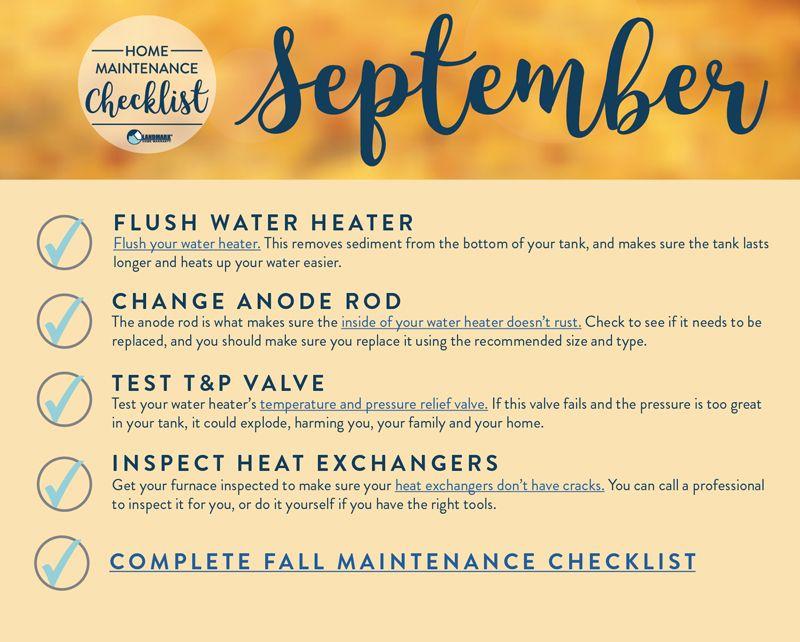 Photo of Checkliste für die Wartung der Wohnung im September!