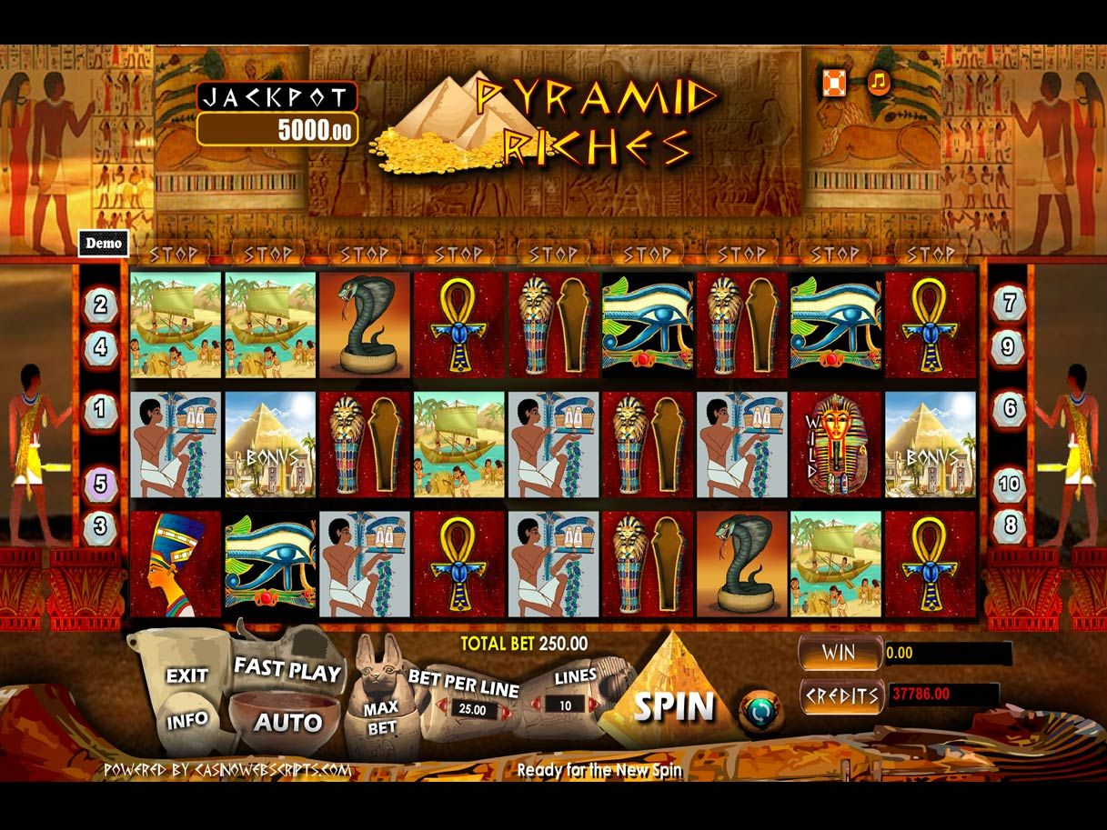 Spiele Pyramid Riches II - Video Slots Online