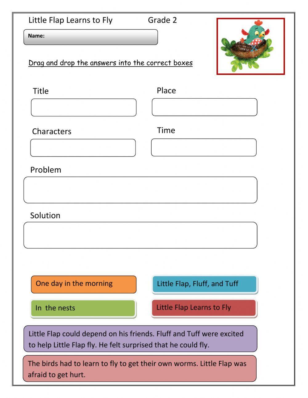 Reading Comprehension Interactive Worksheet Reading Comprehension Close Reading Comprehension Comprehension
