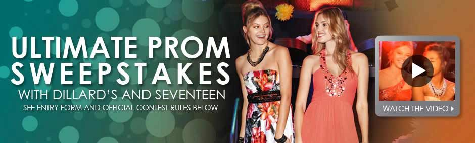Dillards prom sweepstakes enter now win 500 gift card
