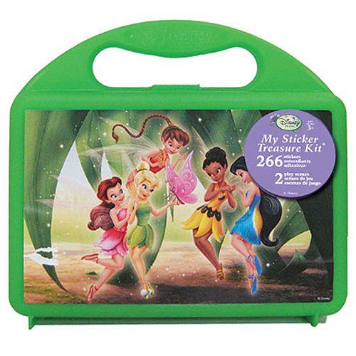 Disney Fairies Sticker Treasure Kit