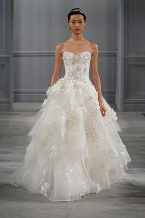 monique lhuillier wedding dresses los angeles Monique Lhuillier Tunk ...