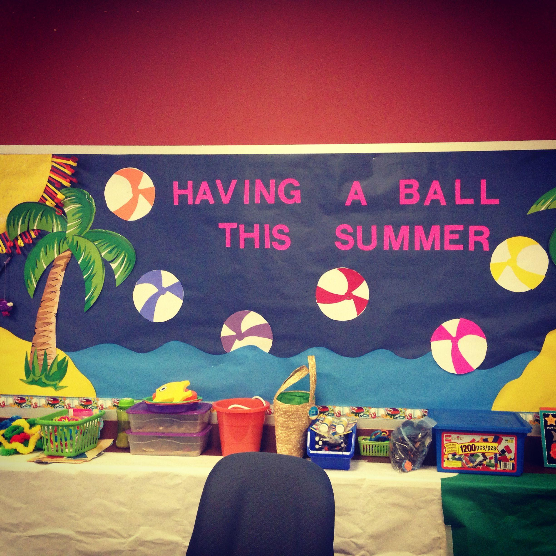 Summer School Board Courtesy Of Julie Mitchell