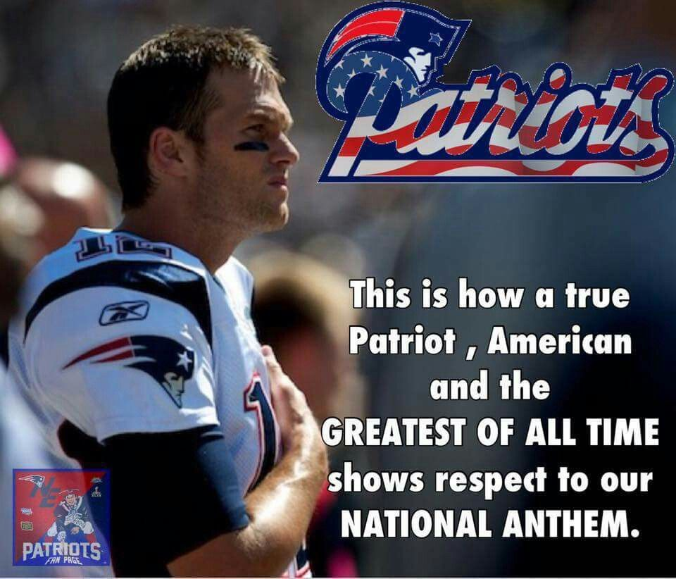 Yes Enough With The Kneeling New England Patriots New England Patriots Football Patriots