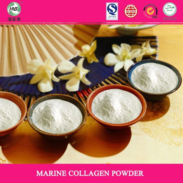 100% marine fish collagen extract from fish skin or fish scale