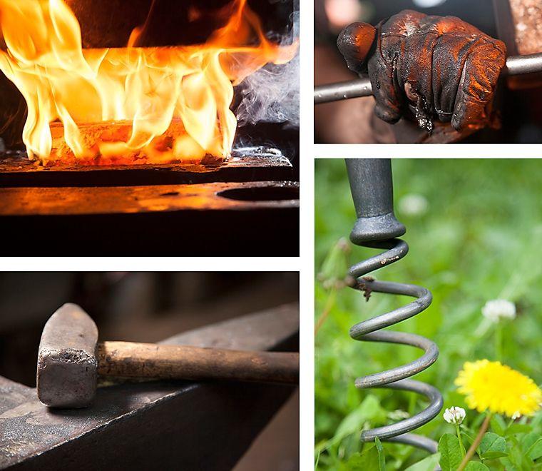 ... wow... ein geschmiedeter Löwenzahnzieher aus Stahl... ein prima Werkzeug für den Frühling...