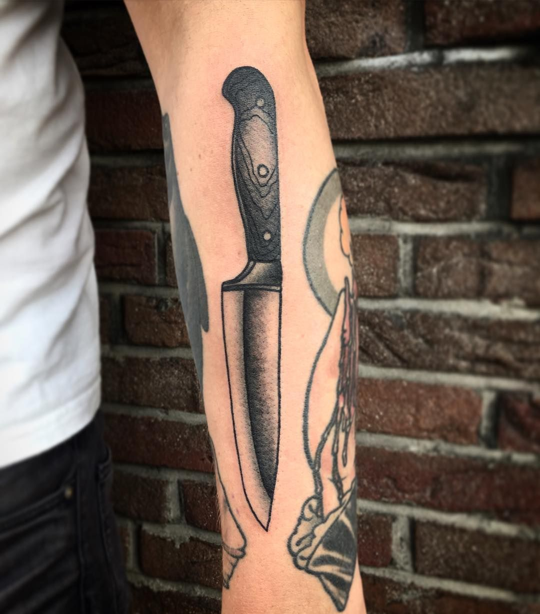 Knife Tattoo, Chef Tattoo