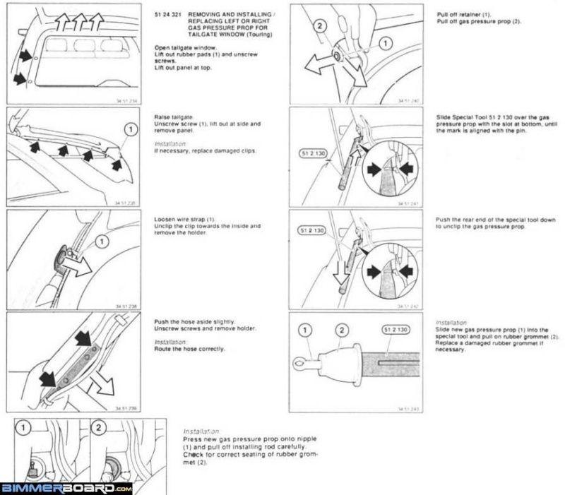 Bmw E61 Tailgate Wiring Diagram 2 Diagram Tailgate Bmw