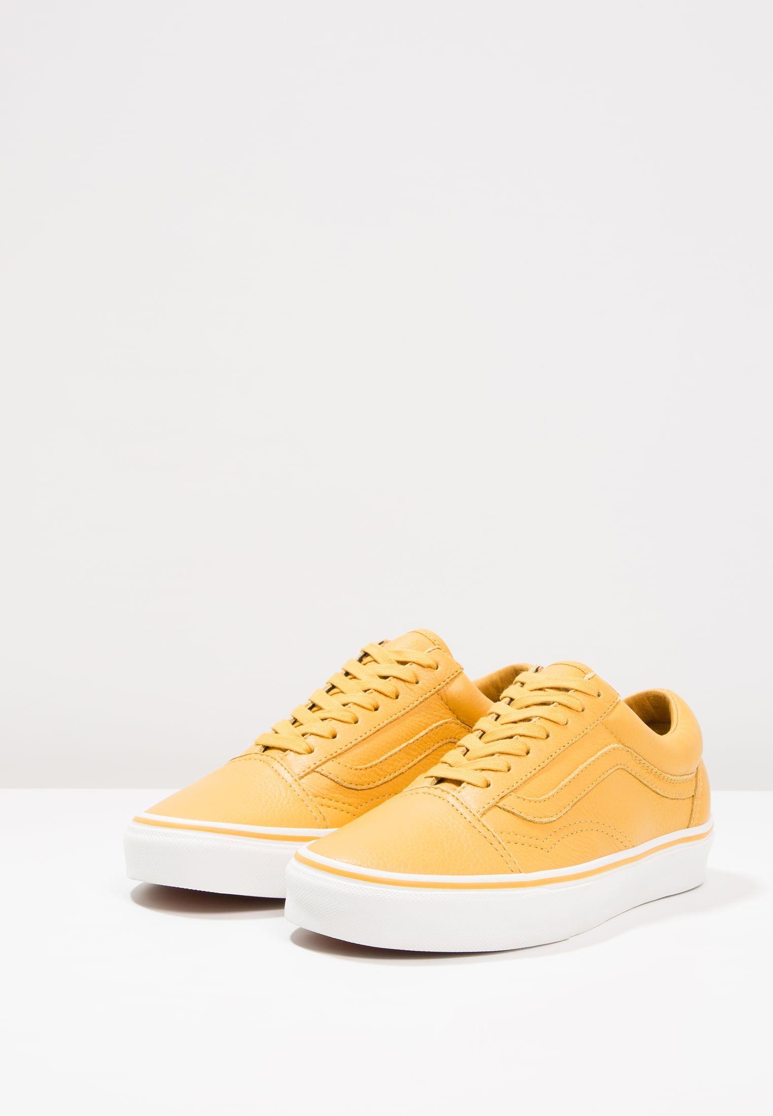 Vans UA OLD SKOOL - Zapatillas mineral yellow/blanc de blanc 7Ny9Tn9D