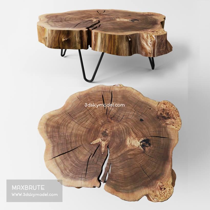table stolik 3dmodel download free 166