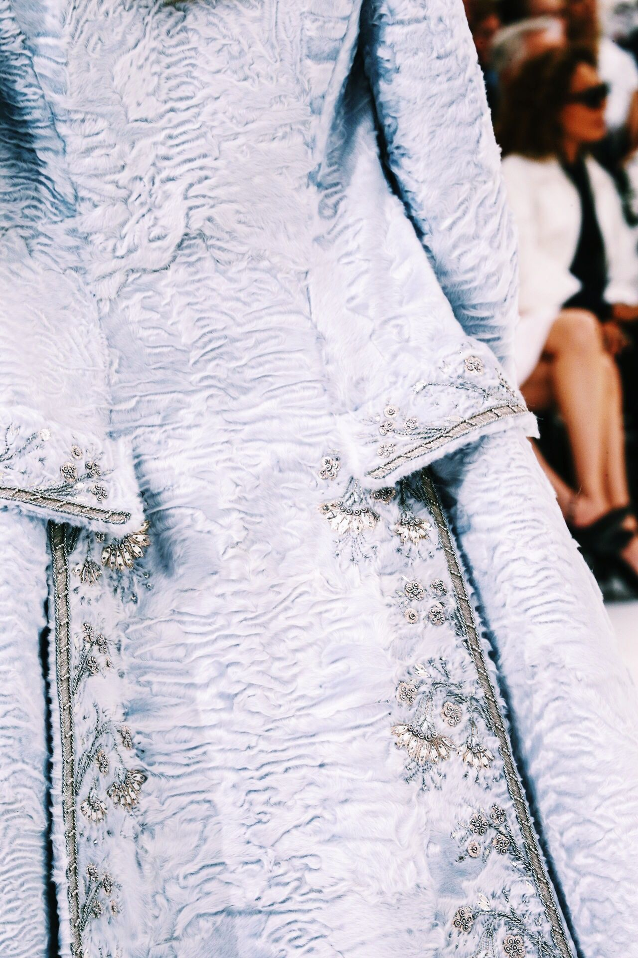Christian Dior Fall/Winter 2014 Haute Couture, palest blue
