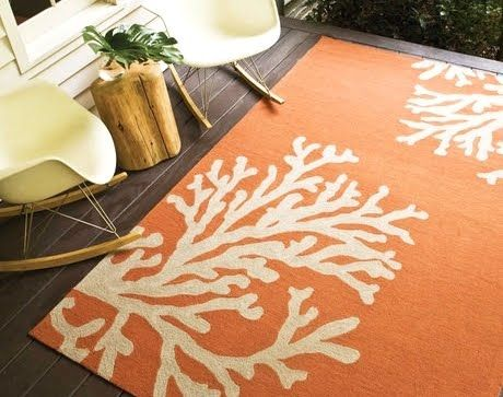 Coastal Nautical Runner Rugs That Make An Entry Indoor