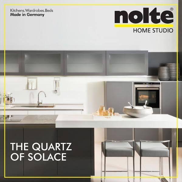 The Glass Tec Satin Kitchen Flaunts The Quartz Grey When It Comes To