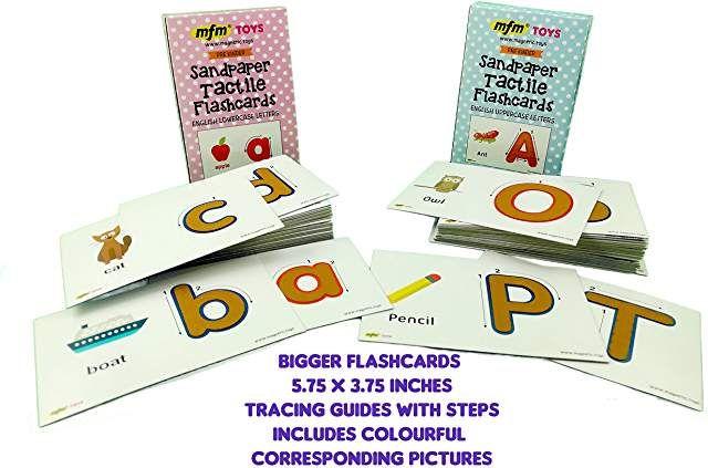 sandpaper cards