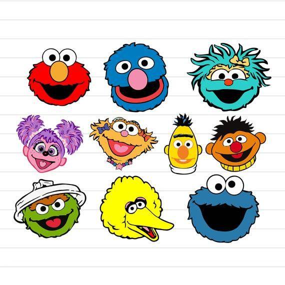 Instant Download Sesame Street Svg Sesame Street Svg