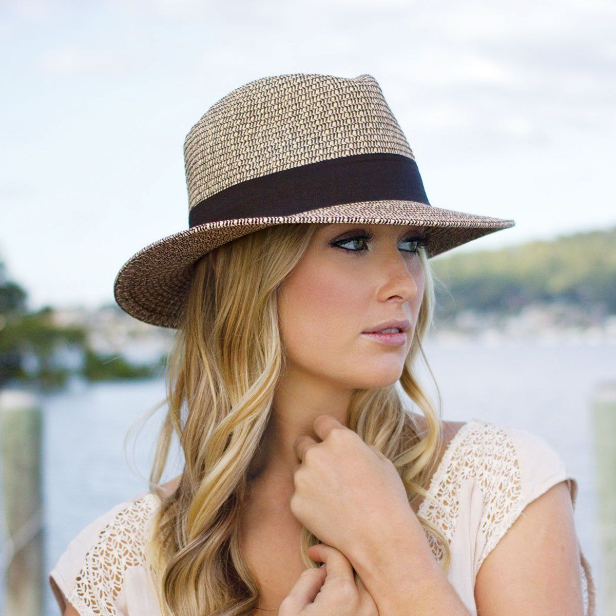 Josie | Summer hats for women, Sun hats for women, Outfits with hats