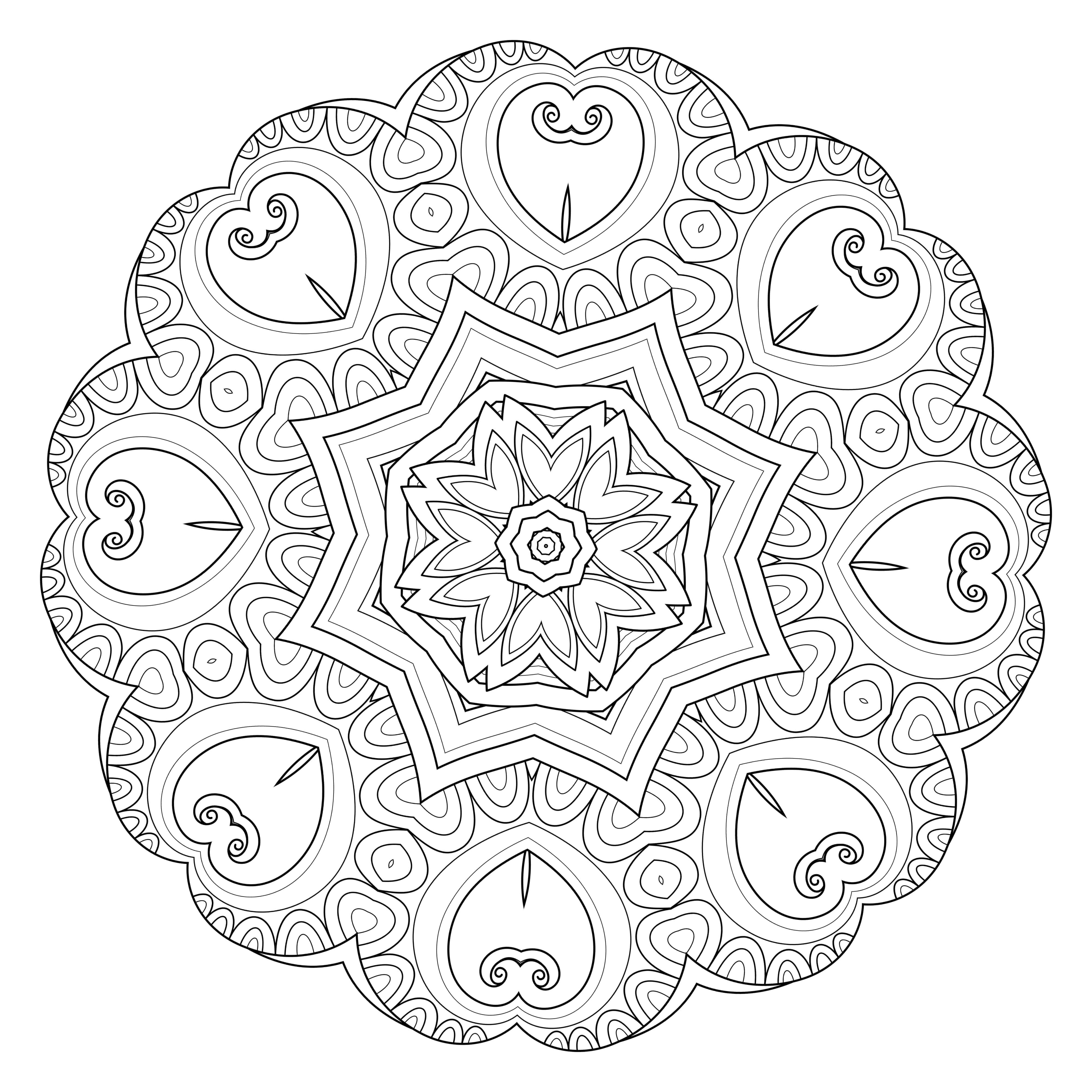Lifestyle And Productivity The Maven Circle Mandala Coloring Pages Mandala Coloring Coloring Pages