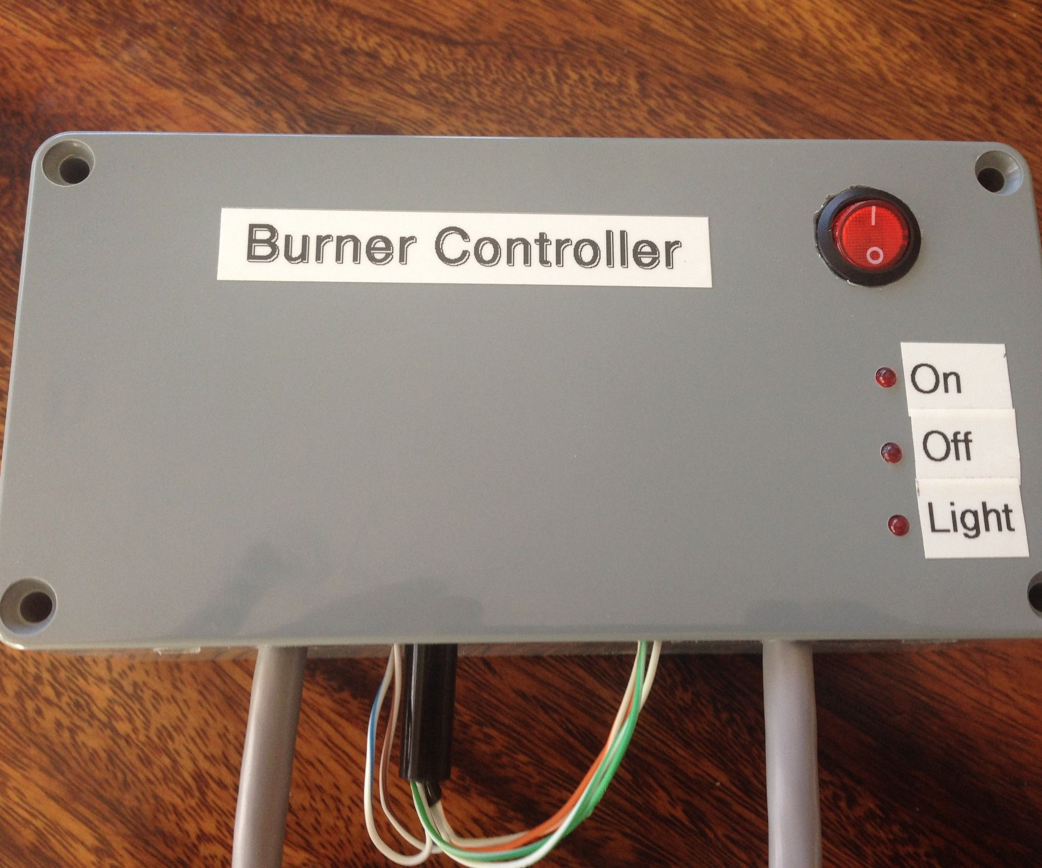 Gas Burner Controller | Step up the brew. | Pizza maker ...