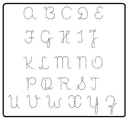 Ensinando A Letra Cursiva Com Atividades Alfabeto Letra Cursiva