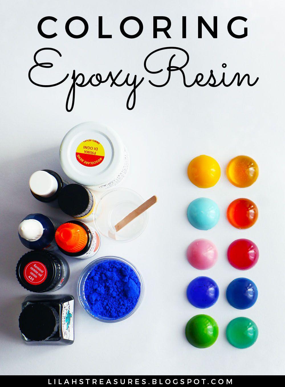 Lilah S Treasures Coloring Epoxy Resin Coloring Resin Resin Crafts Resin Diy