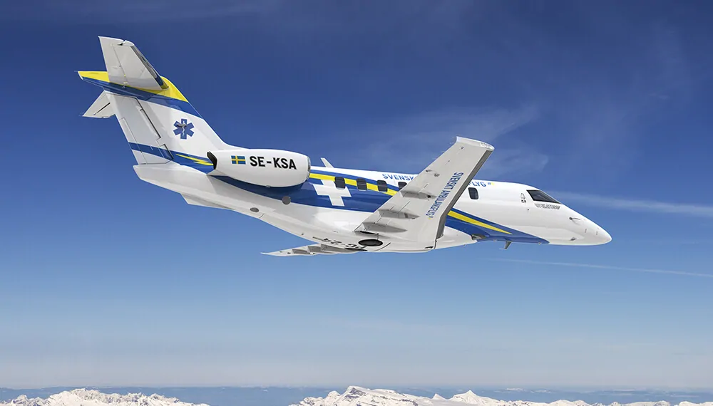 Swedish Air Ambulance Organisation Acquires Six Pilatus PC