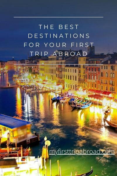 Planning your first international trip? Which are the best countries for your first trip abroad? Get your travel destination guide here, along with the best travel tips, travel quotes, and other travel essentials. #travel #travelhacks #traveldreams