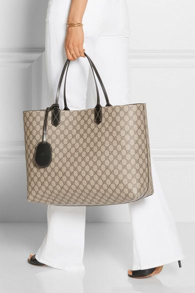 a019ec92b56ee4 Gucci | Turnaround large reversible leather tote | NET-A-PORTER.COM ...