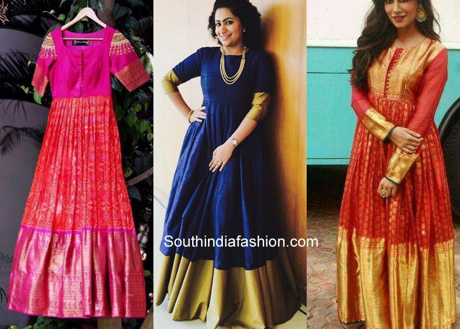 Paithani Saree Dress Recycle