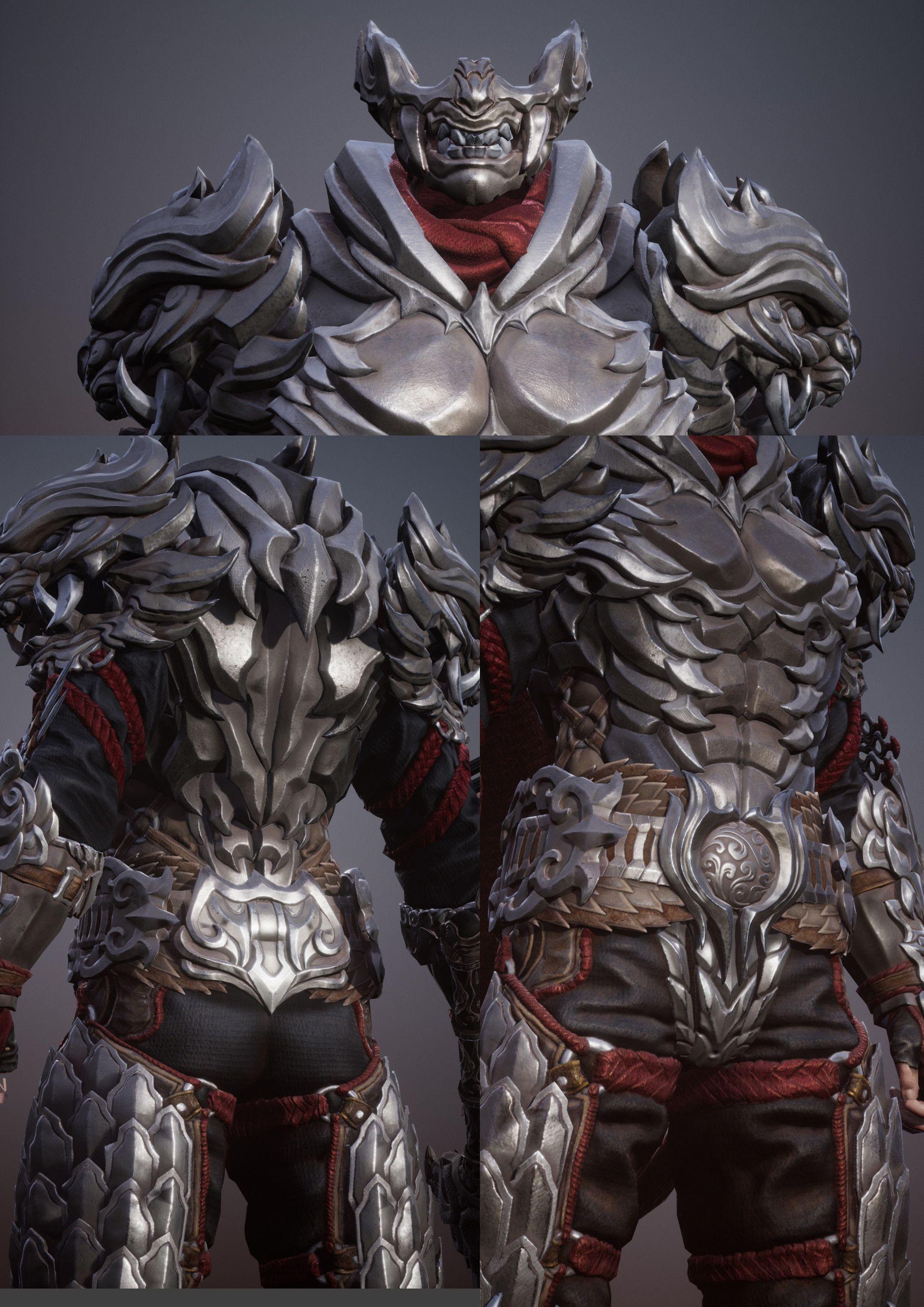 Artstation Dragon Armor Fang Woo Fantasy Armor Armor Concept Dragon Armor Yoshitaka amano concept art of the magitek armor for the main logo of final. artstation dragon armor fang woo
