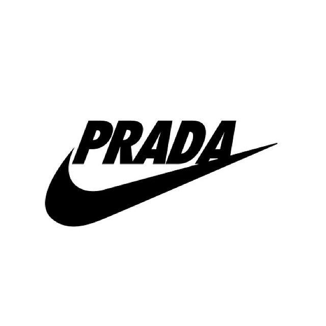 Just Do It Mashup Prada Nike Swoosh Justdoit Logo Cooooool