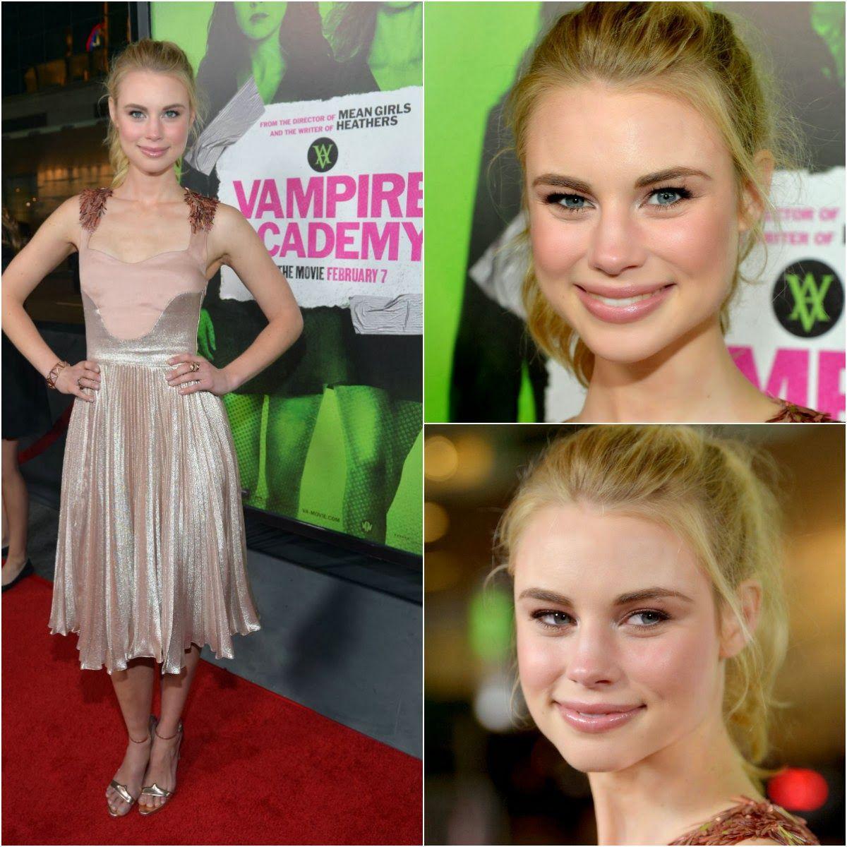 Figurinos de Sucesso: As celebridades na Premiere de 'Vampire Academy' em Los Angeles