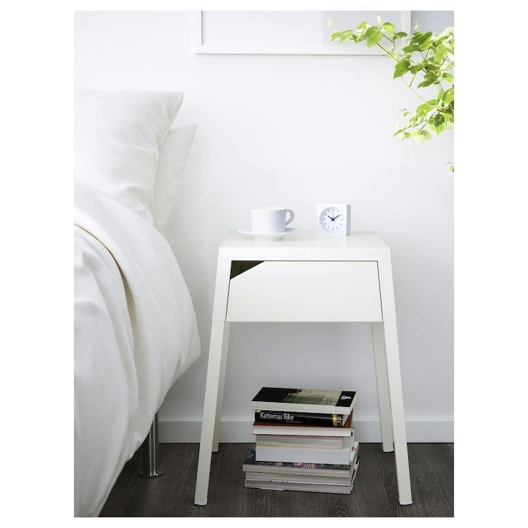 Ikea Selje Table De Chevet Table De Chevet Blanche Chevet Blanc Table De Chevet