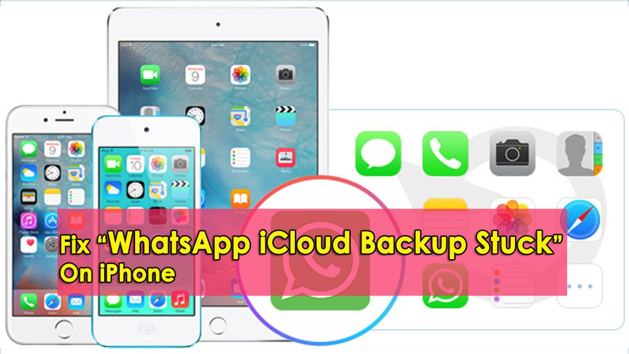 "10 Methods To Fix ""WhatsApp iCloud Backup Stuck"" On iPhone"