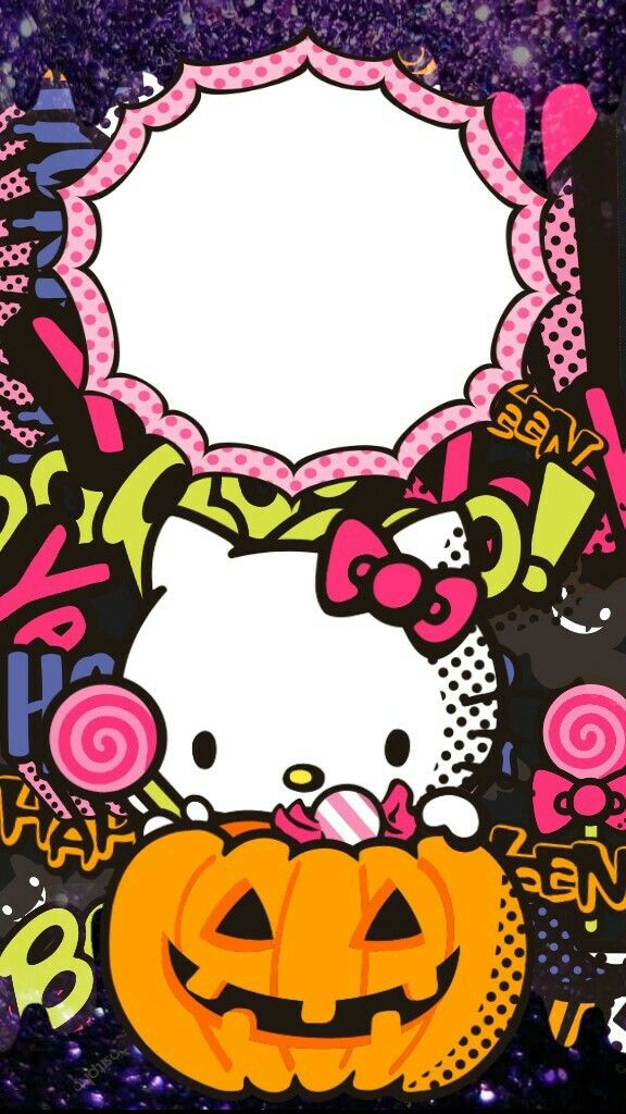 Hello Kitty Wallpaper By Artist Unknown Hello Kitty Halloween Hello Kitty Halloween Wallpaper Hello Kitty Wallpaper