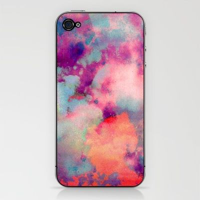 Cloudscape iPhone Skin - one of the few iPhone accessories I've ever liked.