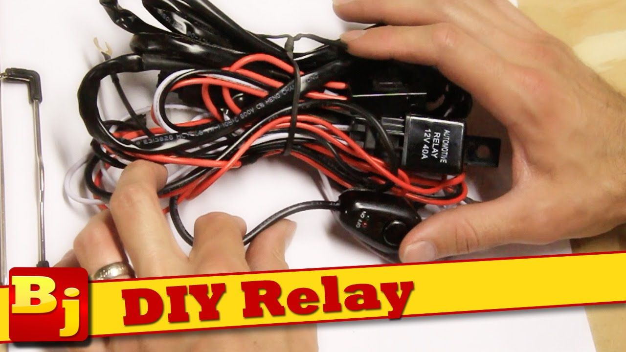 diy led light bar harness how to make your own [ 1280 x 720 Pixel ]