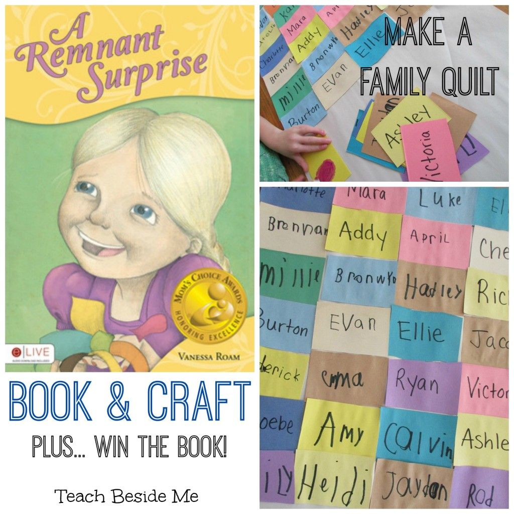 Make A Family Quilt Craft Remnant Surprise Book Review