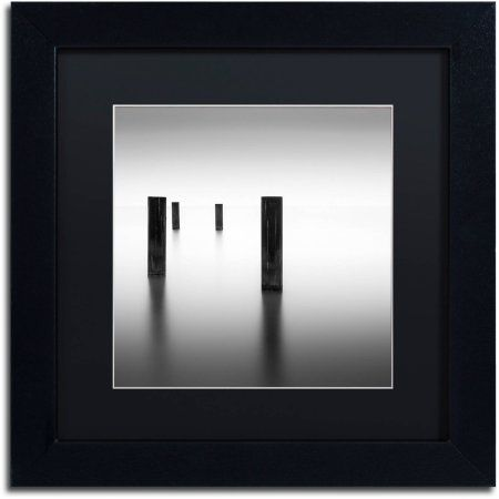 Trademark Fine Art Lucid Canvas Art by Dave MacVicar, Black Matte ...